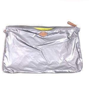 "MZ WALLACE Pouch Travel Case Makeup Bag Tin 16"""